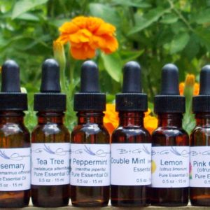 essential oils selections