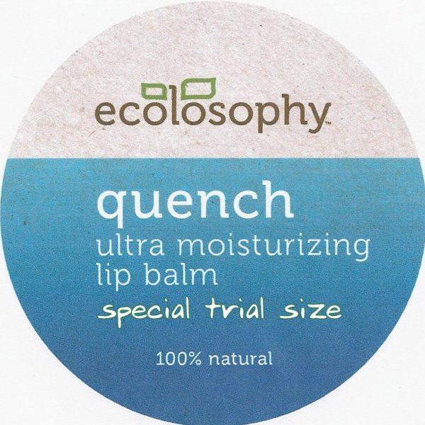 Quench Night Lip Balm all natural lip balm in a tin