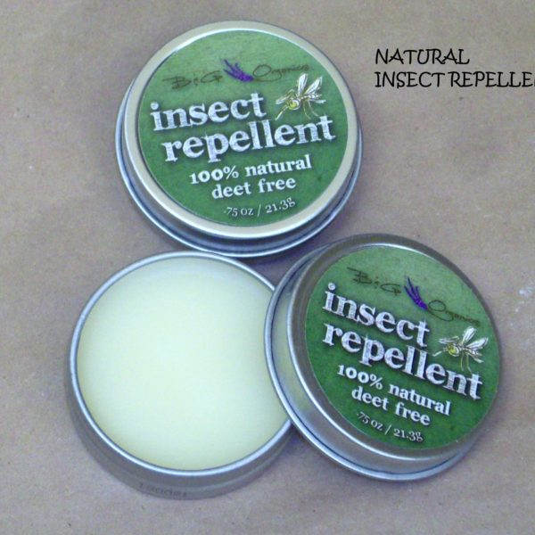 natural insect repellent solid