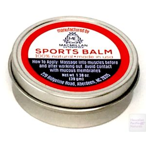 MacMillan natural sports balm