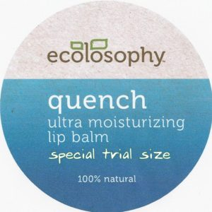 Quench Night Lip Balm all natural lip balm in a tin