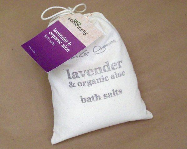 Natural Bath Crystals lavender large